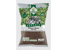 Organic Brown Channa Whole 1Kg