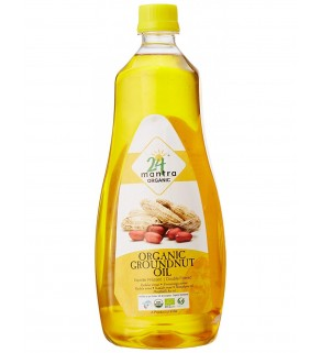 24Mantra Groundnut Oil 1L