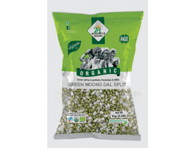 24Mantra Green Moong Split 1Kg