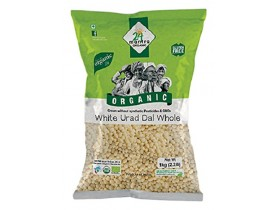 Organic Urad White Whole 1Kg