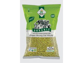 24Mantra Green Moong Dal Whole 1Kg
