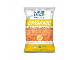 NatureLand Masoor Split Washed 1Kg