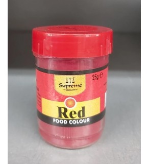 Supreme Food Colour Red 25g