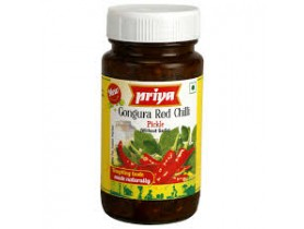Priya Gongura Red Chilli Pickle 300g